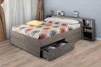 Кровать мокко