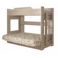 Двухъярусная кровать с диваном (Боровичи)